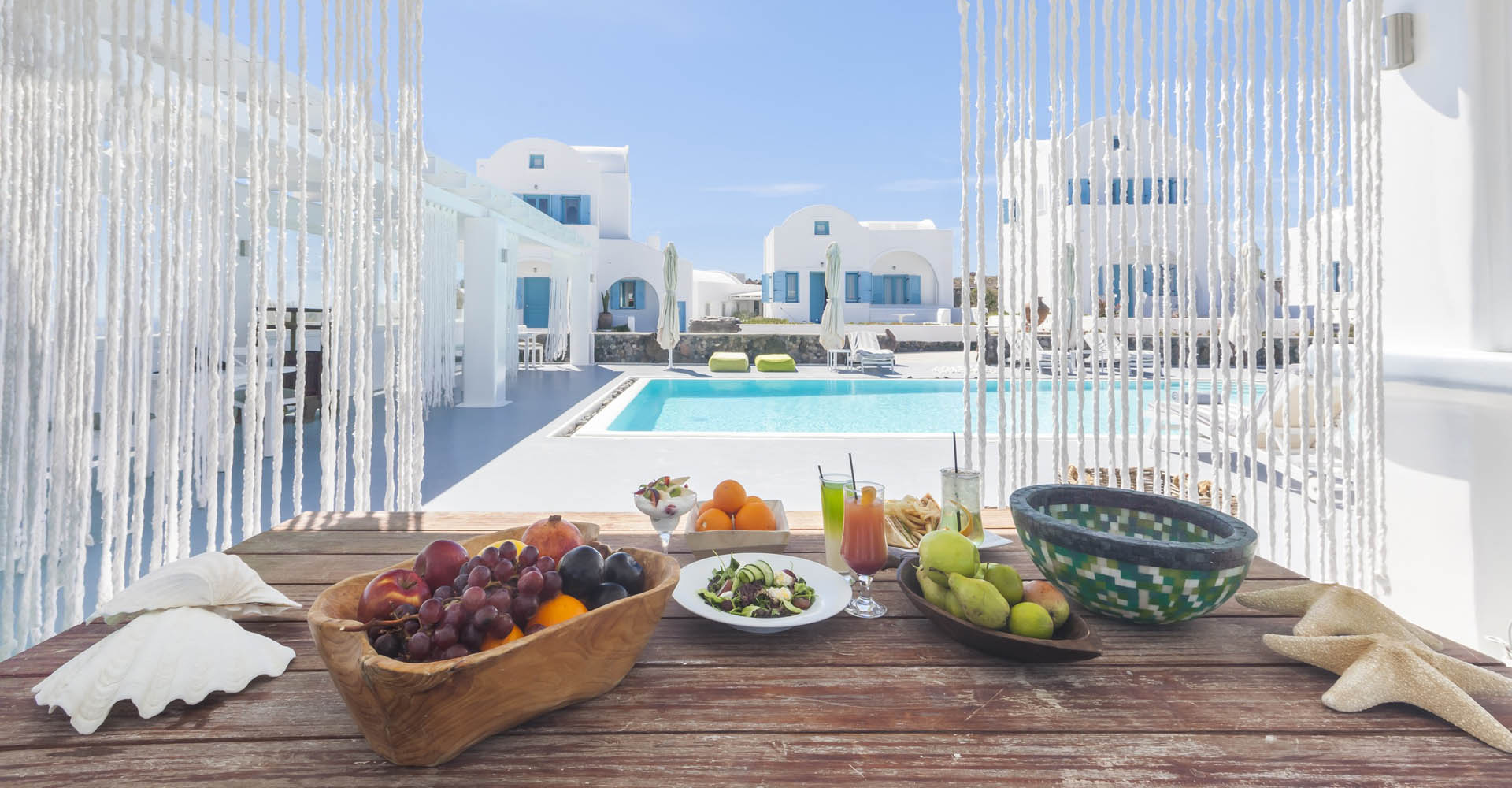 Kalestesia Suites - Pool Bar With Tasty Snacks