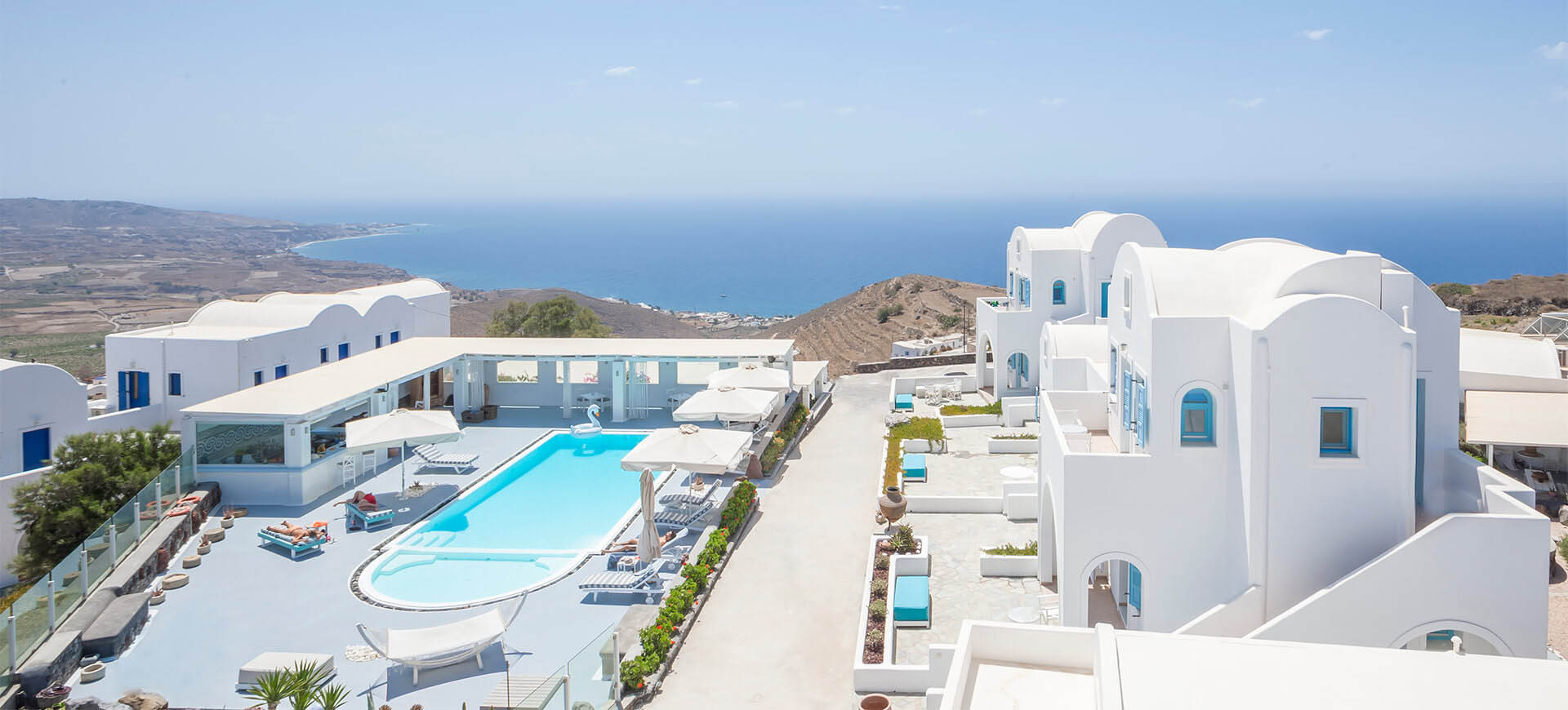 Kalestesia Suites - Panoramic view of Santorini